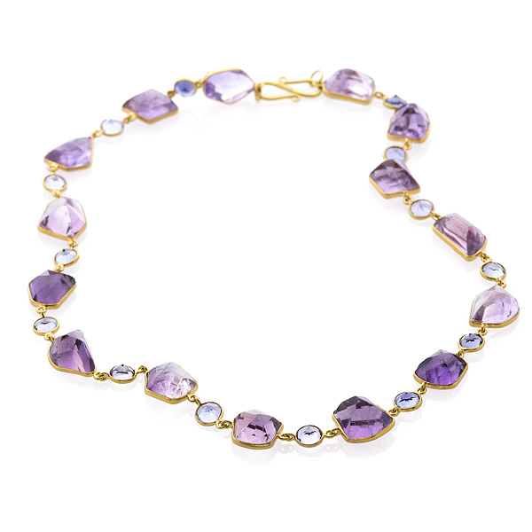 Bahina amethyst necklace