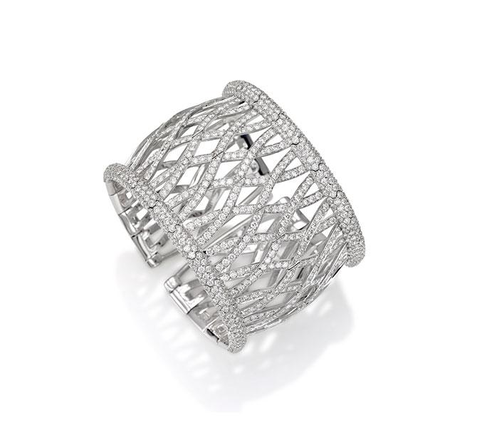 Picchiotti diamond cuff