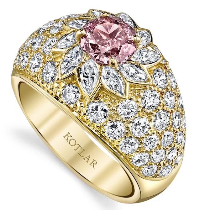 Harry Kotlar Vault diamond ring