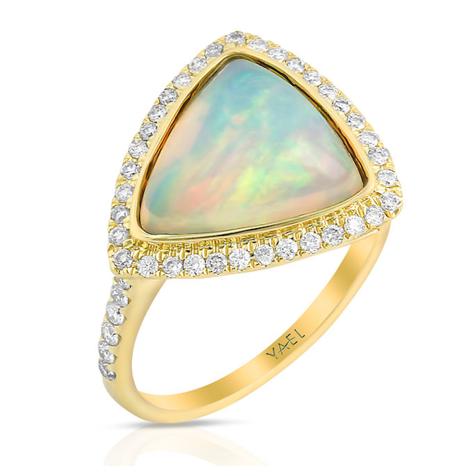 Yael Designs opal ring