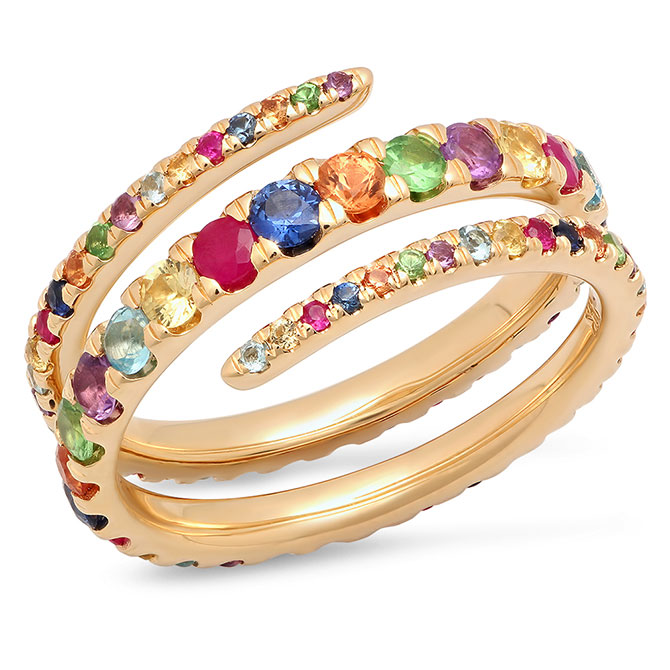 Eriness rainbow ring