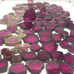 Robert Bentley AGTA tourmaline slices