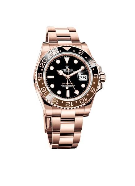 Rolex GMT-Master II in Everose gold