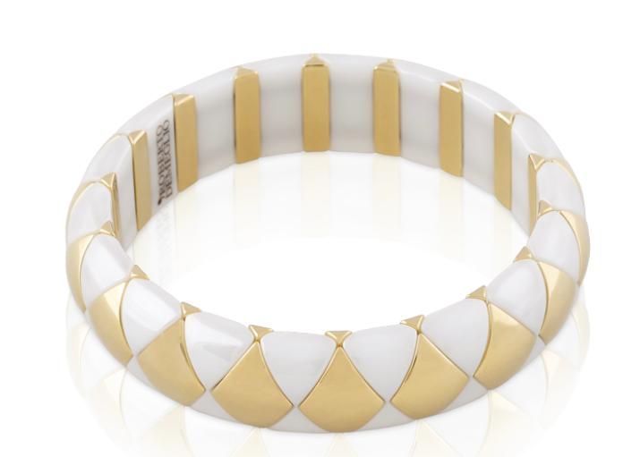 Roberto Demeglio stretch bracelet white