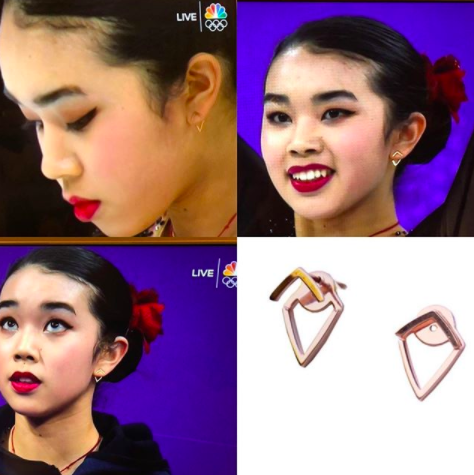 Karen Chen Sonia Hou earrings