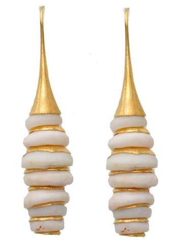 Vanessa Montiel shell jewelry