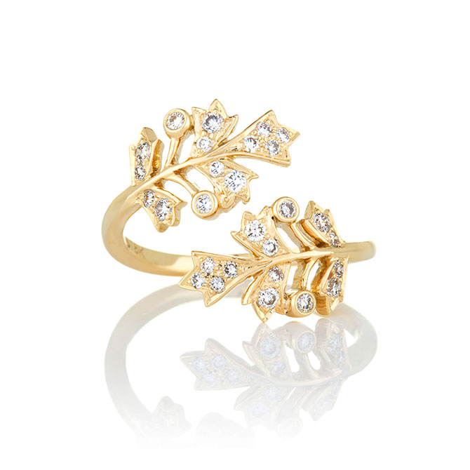 Sethi Couture Bypass Ring