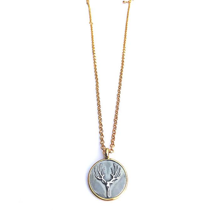 Sonia Tonkin deer pendant