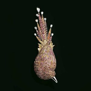 Tiffany & Co. Feathered Cloak bird brooch