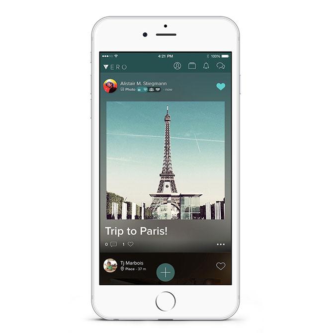 Vero iPhone stream