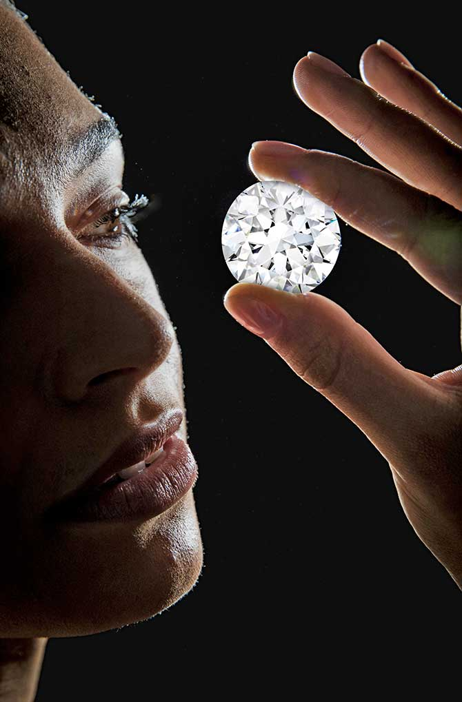 a 102 carat flawless diamond