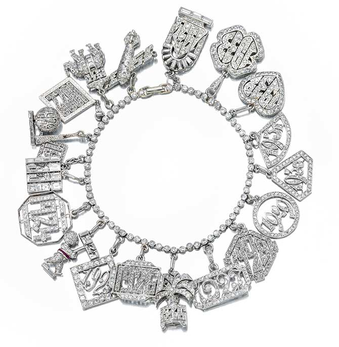 Bonhams New York Sale April 17 Charm Bracelet Lot 59