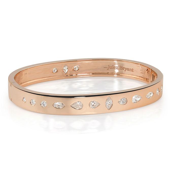 Julez Bryant Metro diamond bracelet