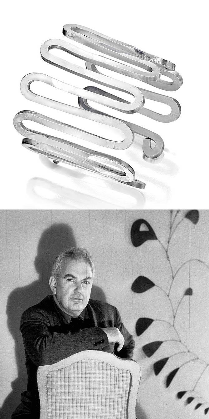 Calder and Calder bracelet