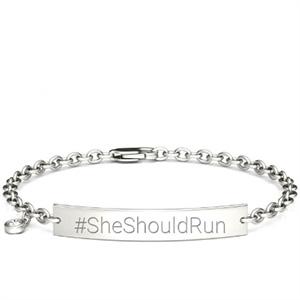 Charles and Colvard She Should Run bracelet