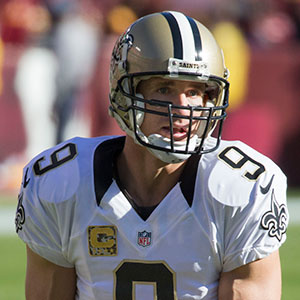 "101861666 New Orleans Saints quarterback Drew Brees (pictured) has sued a San Diego  retailer, claiming the jeweler misled by selling him ""investment grade""  diamonds ..."