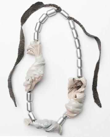 Ineke Heerkens silver necklace