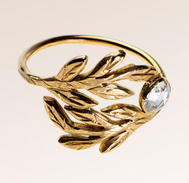 Laure de Sagazan x Printemps Feuille ring