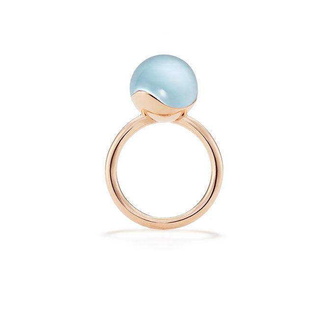 M Monroe Aura medium sphere ring