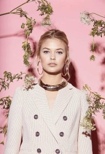 Margaret Ellis Spring Lookboook Horn Collar
