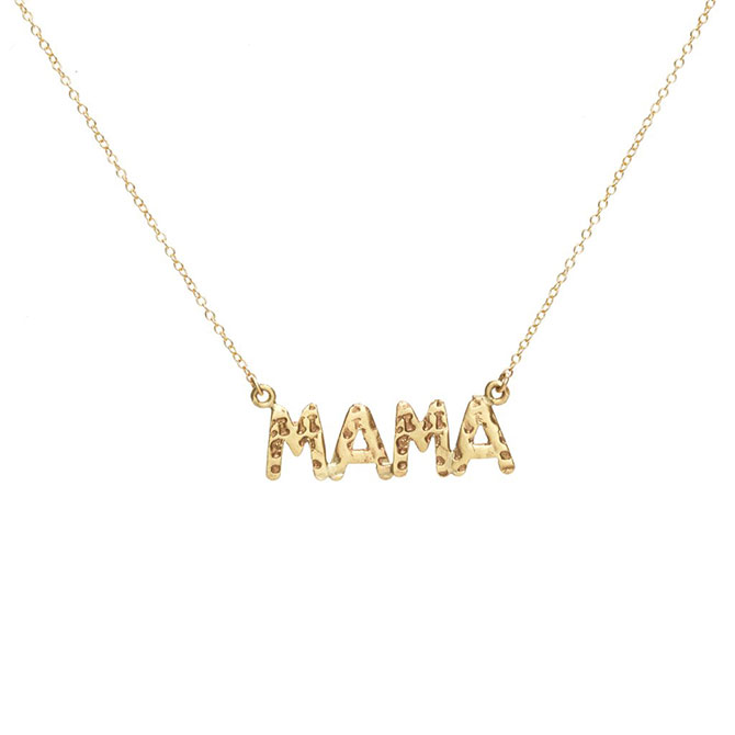 Paige Sargisson Mama necklace