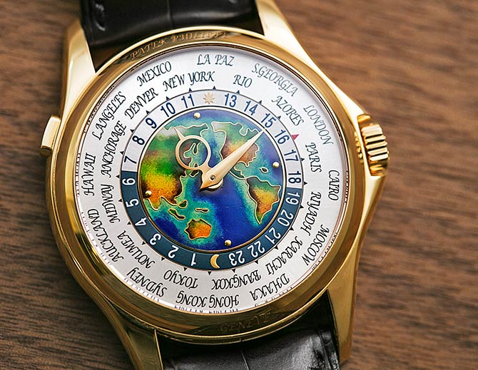 Patek Philippe world time watch