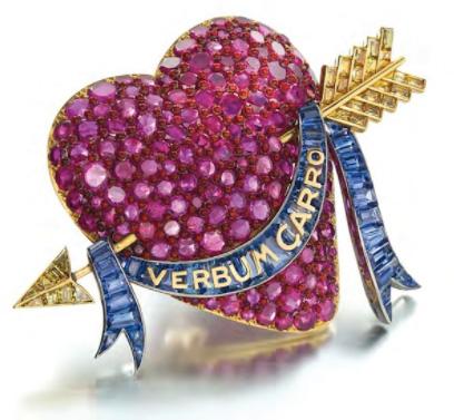 Paul Flato Verdura heart