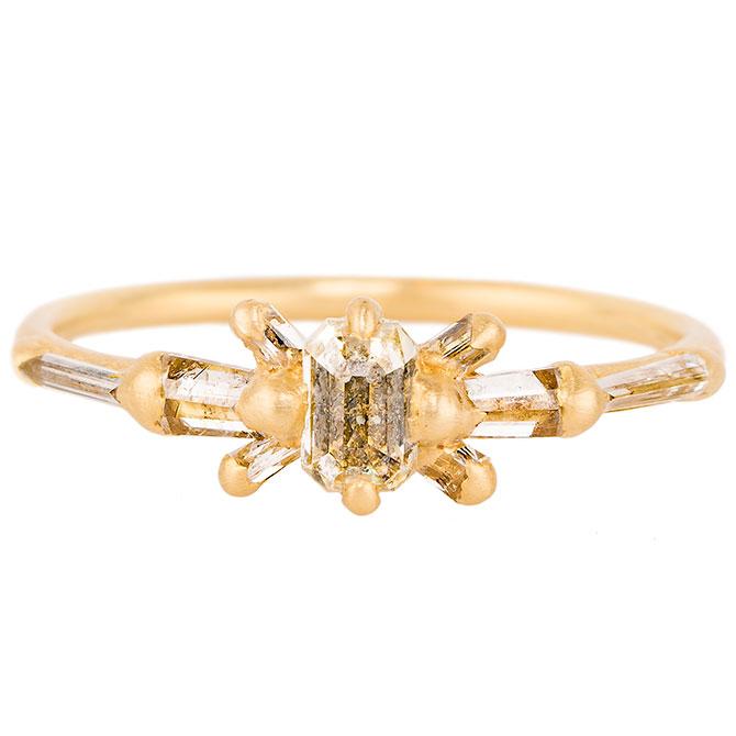 Polly Wales Gerda diamond ring