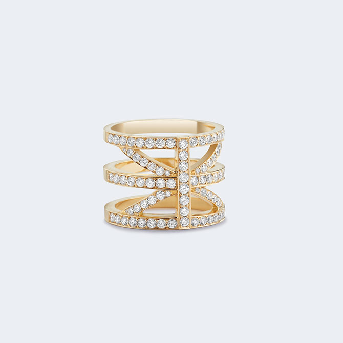 Sandrine de Laage Hint of Britain ring
