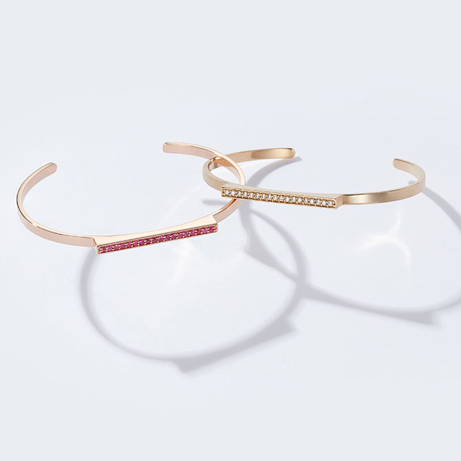 Sandrine de Laage Mademoiselle bracelets