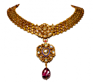 Gold baleora necklace
