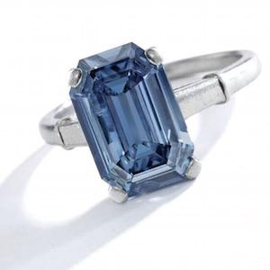 Sothebys 3.47 intense blue diamond