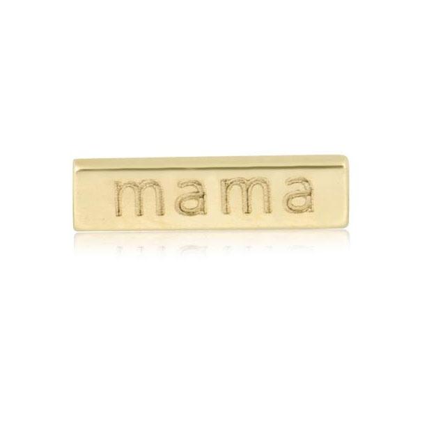 Stone and Strand Mama bar stud earring