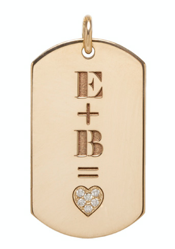 Zoe Chicco Get Charmed dog tag