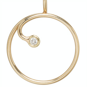 Zoe Chicco Get Charmed round charm