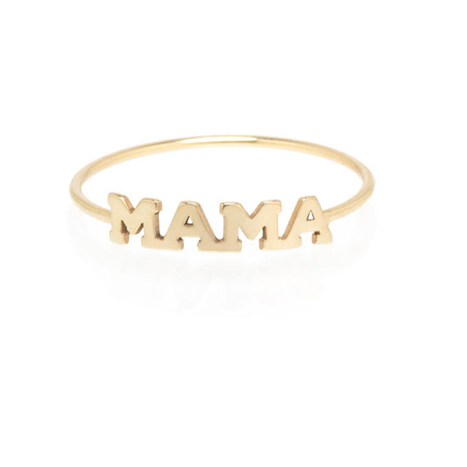 Zoe Chicco Mama ring