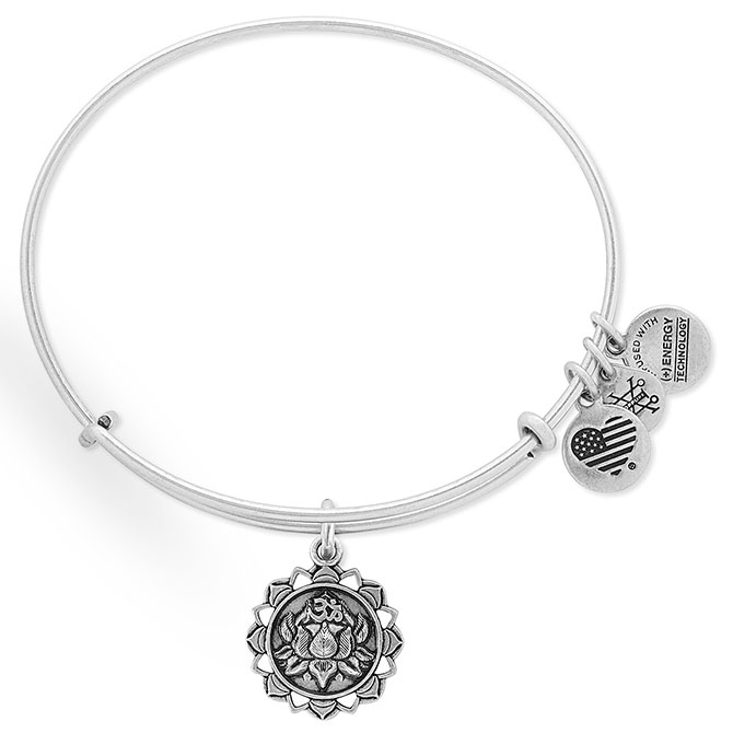 alex and ani lotus peace bangle
