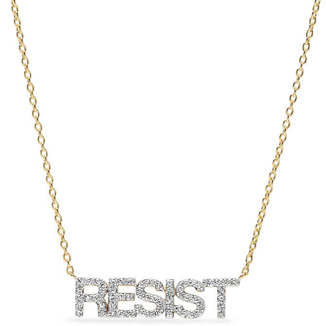 eriness resist diamond necklace