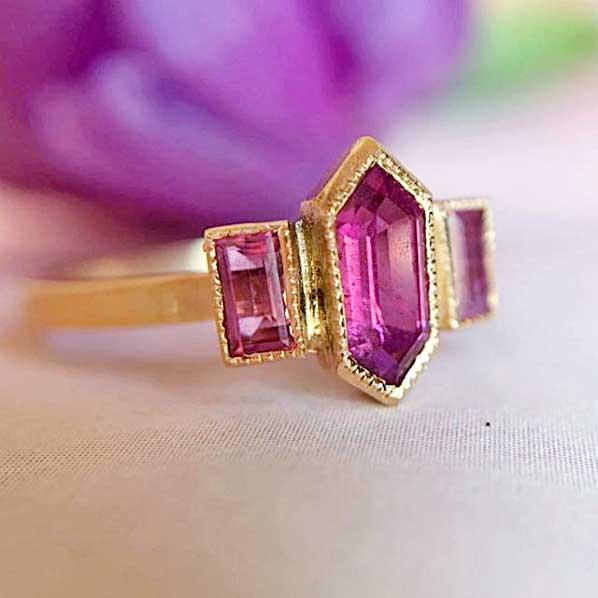 jennifer dawes pink sapphire ring
