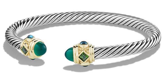 yurman green onyx renaissance bracelet