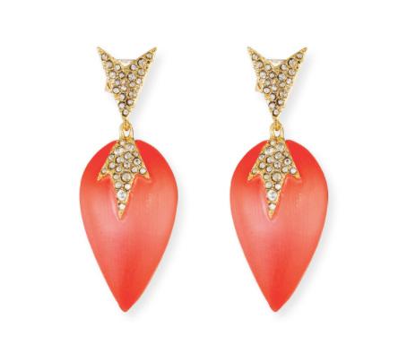 Alexis Bittar Lucite earrings