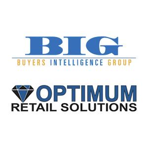 Buyers Intelligence Group and Optimum Retail logos