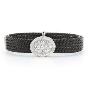 Alor black cable bracelet