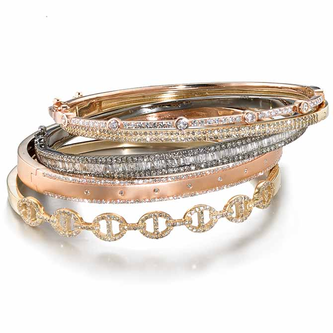 Ela Rae bangle stack