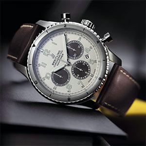 Breitling Navitimer Aviator 8B01 Chronograph lead