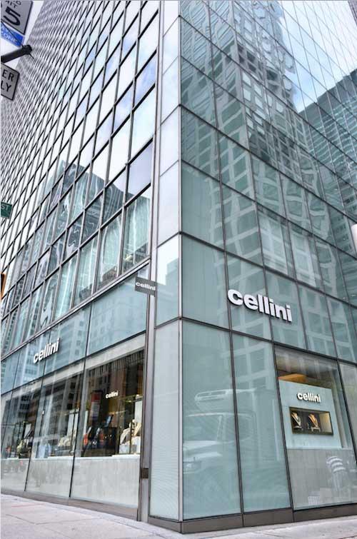 Cellini store exterior