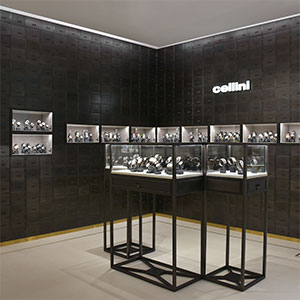 Cellini store watch section