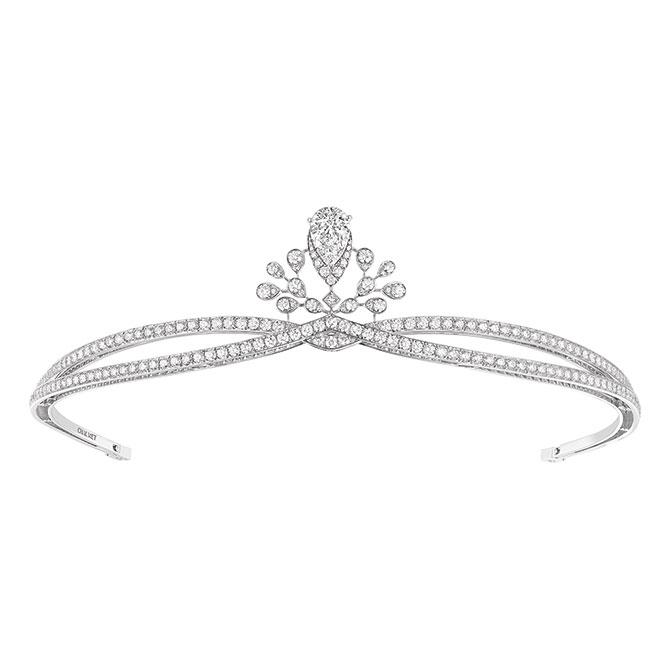 Chaumet Josephine Aigrette Imperial diamond and platinum tiara