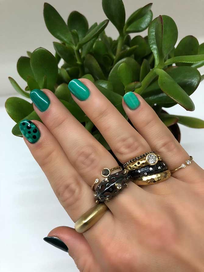 Dana Bronfman manicure
