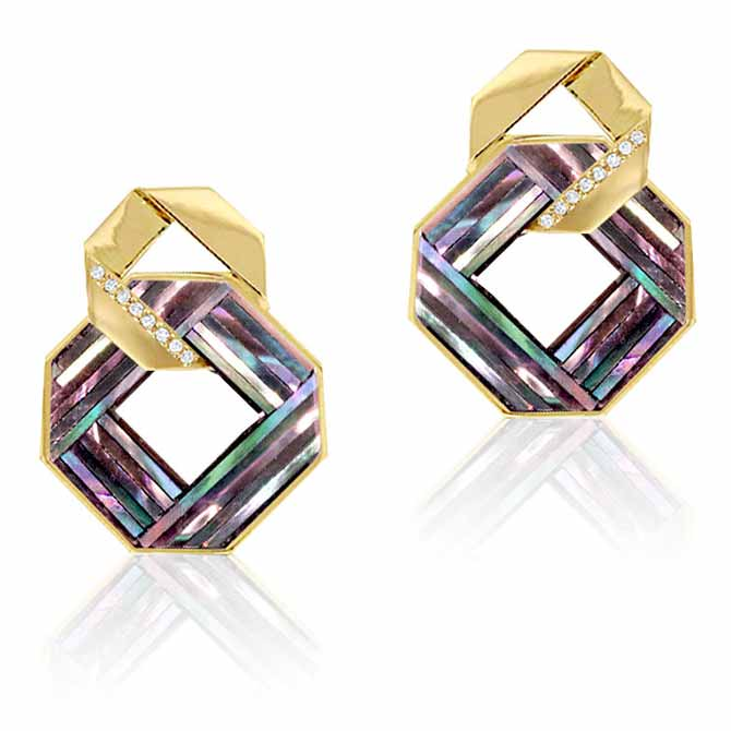Nostalzia Knot earrings